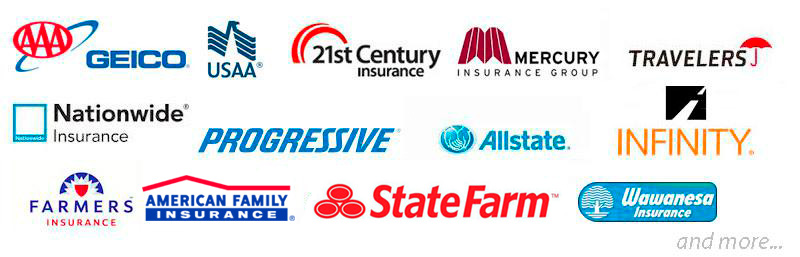 Insurance Companies We Work With in Irvine