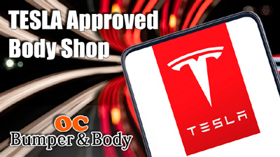 Tesla Approved Auto Body Repair Shop in Irvine, CA